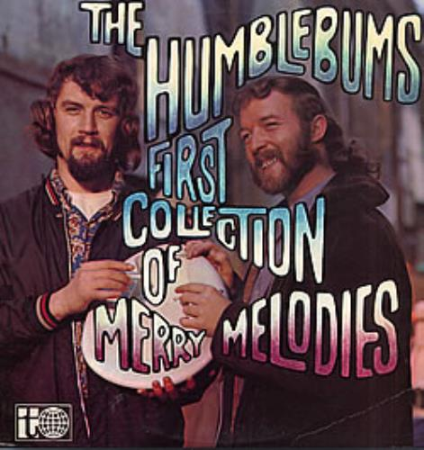 The Humblebums First Collection Of Merry Melodies vinyl LP album (LP record) UK UHBLPFI258021