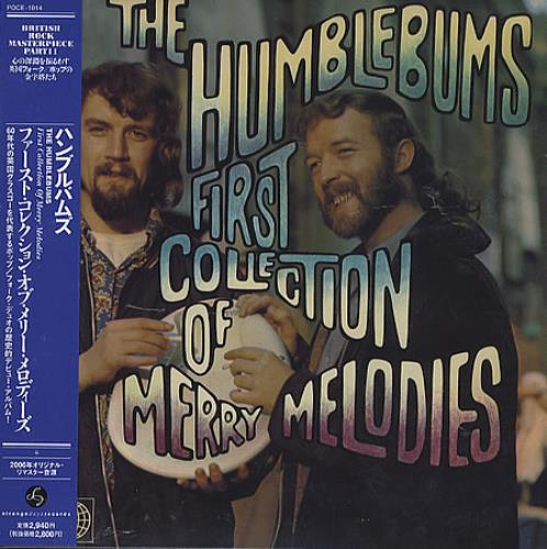 The Humblebums First Collection Of Merry Melodies CD album (CDLP) Japanese UHBCDFI359162