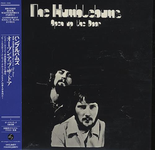 The Humblebums Open Up The Door CD album (CDLP) Japanese UHBCDOP359163