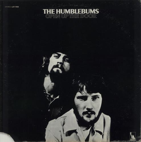The Humblebums Open Up The Door vinyl LP album (LP record) US UHBLPOP674716