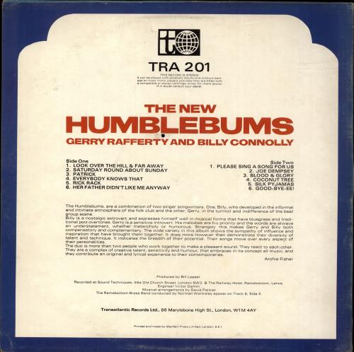 The Humblebums The Humblebums - EX vinyl LP album (LP record) UK UHBLPTH695625