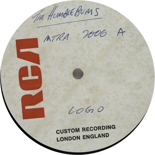 The Humblebums The Humblebums acetate UK UHBATTH643338