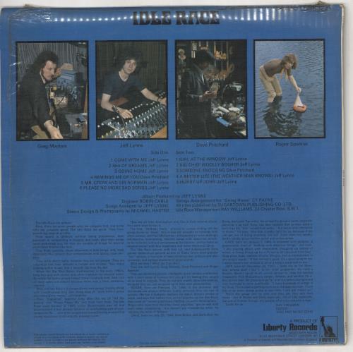 The Idle Race Idle Race vinyl LP album (LP record) UK IDLLPID724678