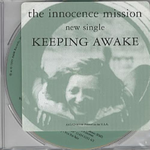 "The Innocence Mission Keeping Awake CD single (CD5 / 5"") US INOC5KE319485"