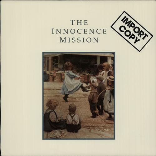 The Innocence Mission The Innocence Mission vinyl LP album (LP record) US INOLPTH640413