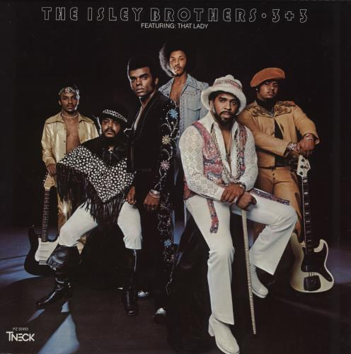 The Isley Brothers 3 + 3 - Three Plus Three - 180gm Vinyl vinyl LP album (LP record) US ISRLPTH759897