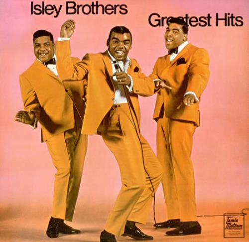 The Isley Brothers Greatest Hits Australian vinyl LP album