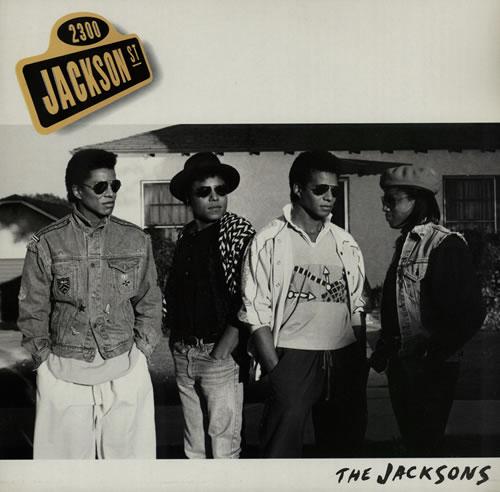 The Jackson Five 2300 Jackson Street vinyl LP album (LP record) UK JKSLPJA571870