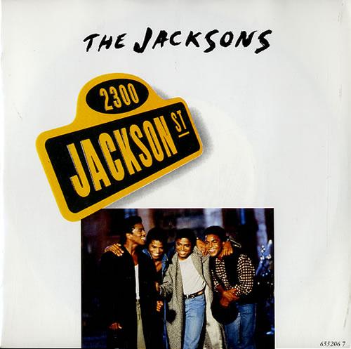 "The Jackson Five 2300 Jackson Street 7"" vinyl single (7 inch record) UK JKS07JA627767"