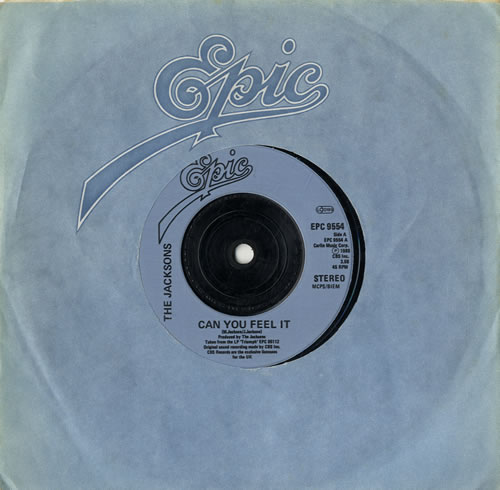 """The Jackson Five Can You Feel It - Injection Label 7"""" vinyl single (7 inch record) UK JKS07CA561119"""