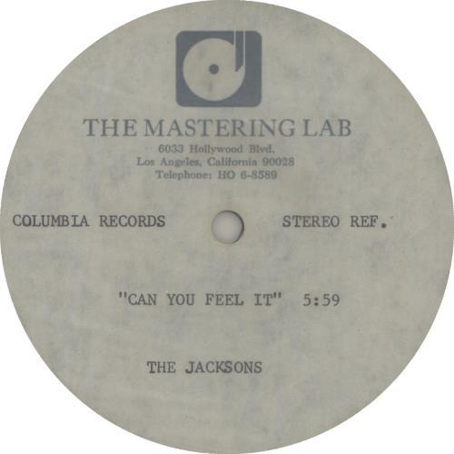 The Jackson Five Can You Feel It acetate US JKSATCA645942