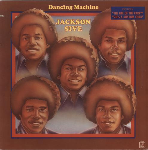 The Jackson Five Dancing Machine vinyl LP album (LP record) US JKSLPDA651398
