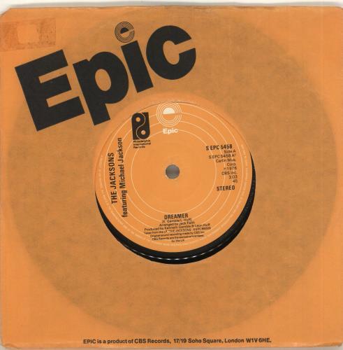 "The Jackson Five Dreamer - Label Variant 7"" vinyl single (7 inch record) UK JKS07DR714354"