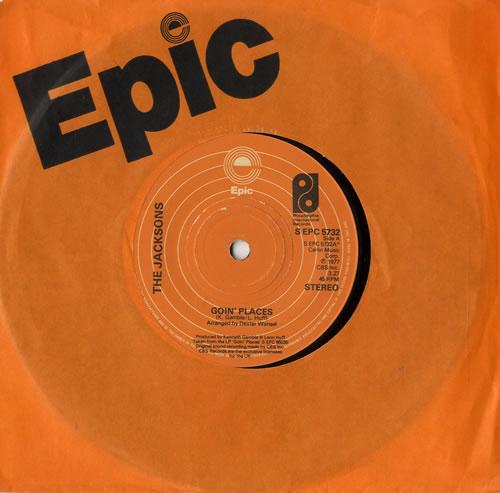 "The Jackson Five Goin' Places 7"" vinyl single (7 inch record) UK JKS07GO566719"