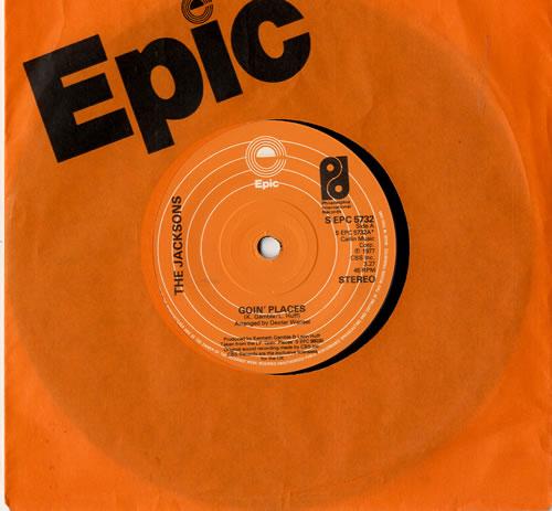 "The Jackson Five Goin' Places 7"" vinyl single (7 inch record) UK JKS07GO600676"