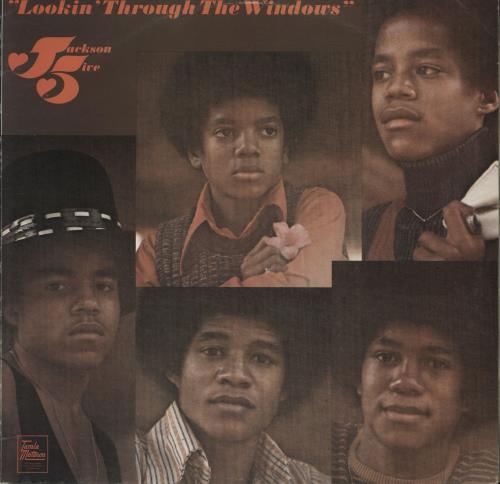 The Jackson Five Lookin' Through The Windows - EX vinyl LP album (LP record) UK JKSLPLO719634