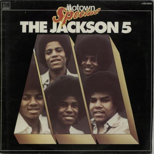 The Jackson Five Motown Special vinyl LP album (LP record) Italian JKSLPMO643859