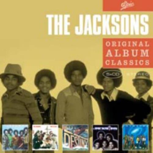 The Jackson Five Original Album Classics 5-CD album set UK JKS5COR436062
