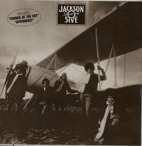 The Jackson Five Skywriter - Sealed vinyl LP album (LP record) US JKSLPSK572812