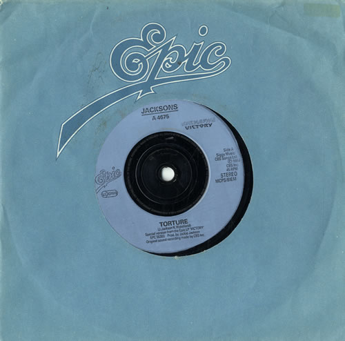 "The Jackson Five Tourture - Injection label 7"" vinyl single (7 inch record) UK JKS07TO582115"