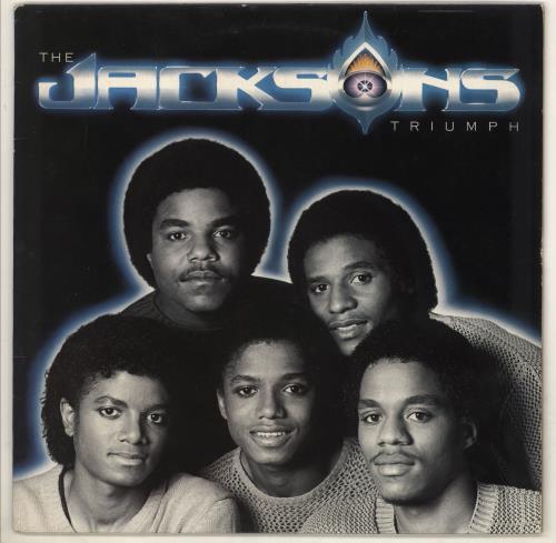 The Jackson Five Triumph vinyl LP album (LP record) UK JKSLPTR289508
