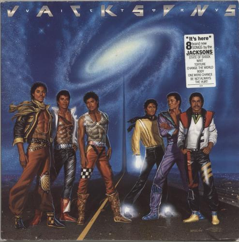 The Jackson Five Victory - EX vinyl LP album (LP record) UK JKSLPVI695244