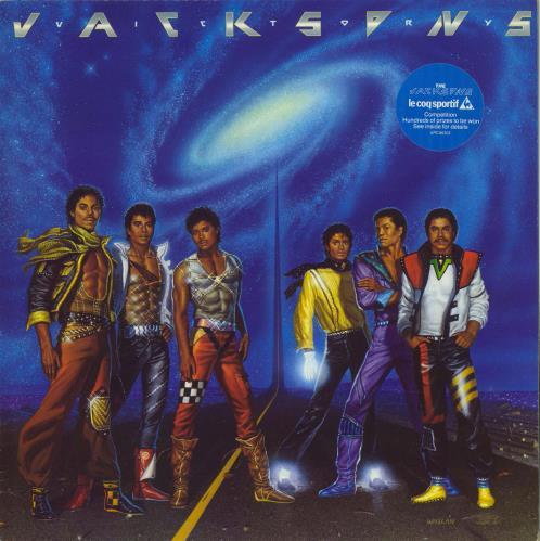 The Jackson Five Victory - stickered + competition insert vinyl LP album (LP record) UK JKSLPVI774511