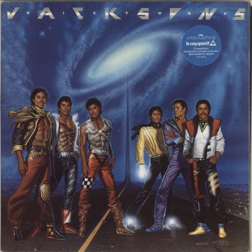 The Jackson Five Victory - Stickered sleeve vinyl LP album (LP record) UK JKSLPVI716656