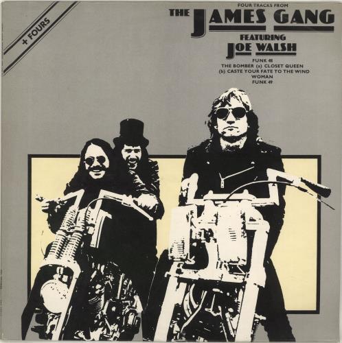 "The James Gang Four Tracks From The James Gang 12"" vinyl single (12 inch record / Maxi-single) UK JMG12FO240485"