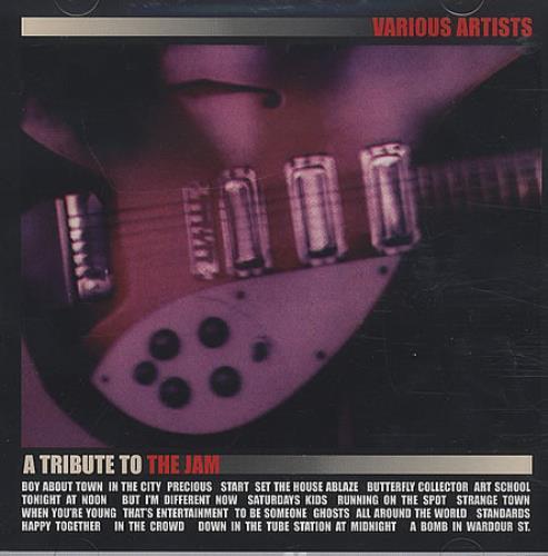 The Jam A Tribute to the Jam CD album (CDLP) UK JAMCDAT317996