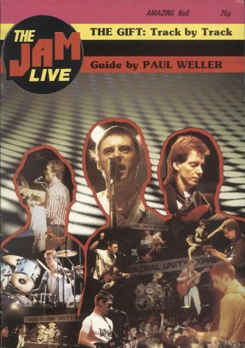 The Jam Amazing No 6 magazine UK JAMMAAM720428