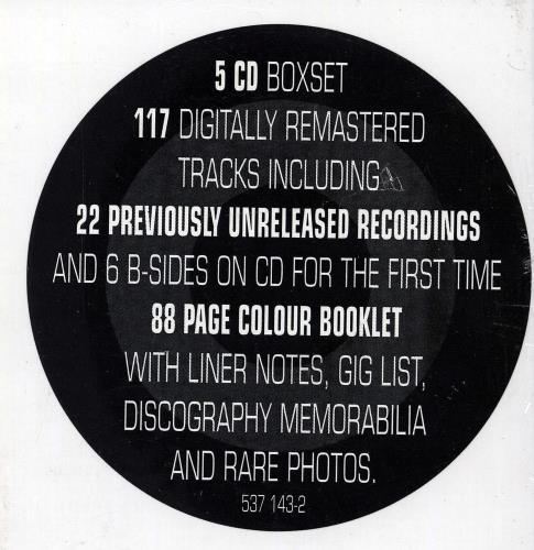 The Jam Direction Reaction Creation CD Album Box Set UK JAMDXDI619314