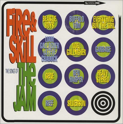 The Jam Fire Amp Skill Uk Vinyl Lp Album Lp Record 198064