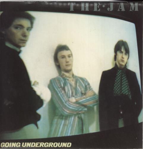 """The Jam Going Underground - Double - EX 7"""" vinyl single (7 inch record) UK JAM07GO566421"""