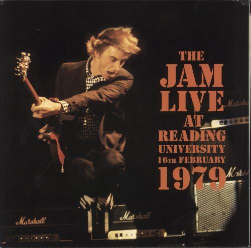 The Jam Live At Reading University 16th February 1979 2-LP vinyl record set (Double Album) UK JAM2LLI741288