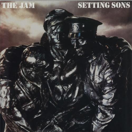 The Jam Setting Sons 180gm Uk Vinyl Lp Album Lp Record