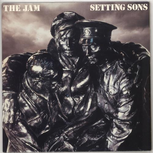 The Jam Setting Sons - 1st (b) - EX vinyl LP album (LP record) UK JAMLPSE698317
