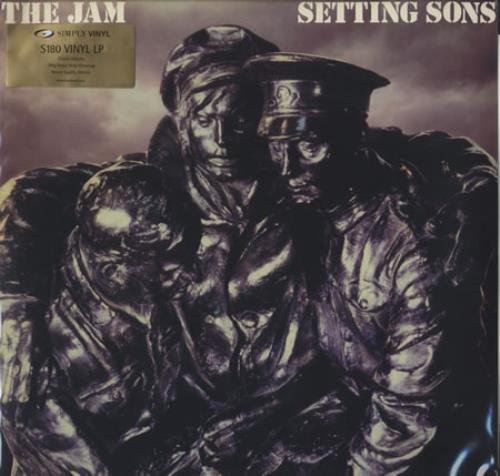 The Jam Setting Sons vinyl LP album (LP record) UK JAMLPSE222674