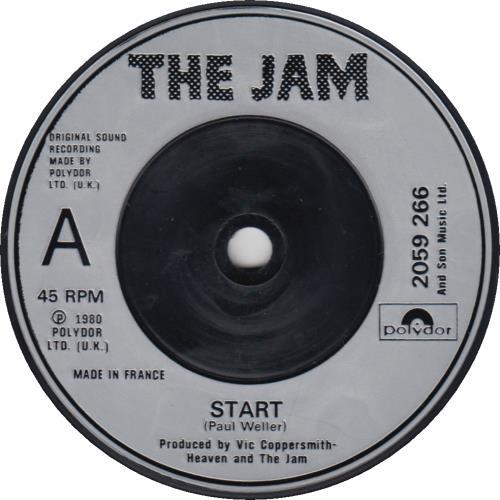 """The Jam Start! - Made In France 7"""" vinyl single (7 inch record) UK JAM07ST92612"""