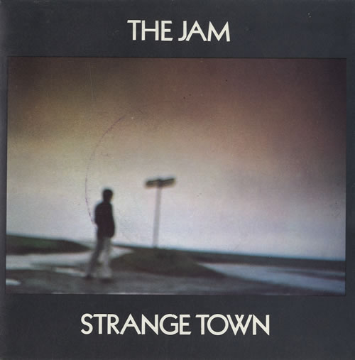 "The Jam Strange Town 7"" vinyl single (7 inch record) French JAM07ST109742"