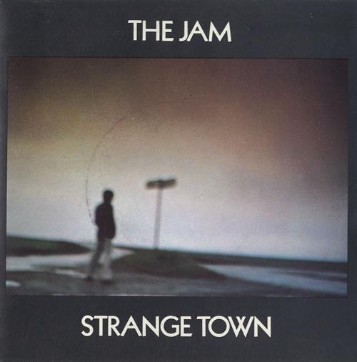 "The Jam Strange Town 7"" vinyl single (7 inch record) French JAM07ST109742"