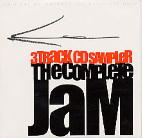"""The Jam The Complete Jam Sampler CD single (CD5 / 5"""") UK JAMC5TH226568"""