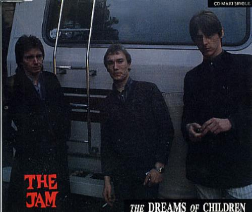 "The Jam The Dreams Of Children CD single (CD5 / 5"") UK JAMC5TH39673"