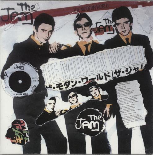 "The Jam The Modern World - Punk Art Sleeve 7"" vinyl single (7 inch record) UK JAM07TH757455"