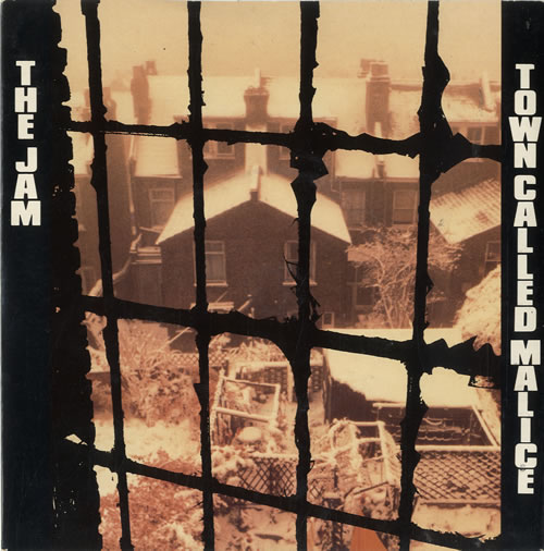"""The Jam Town Called Malice + Sleeve 7"""" vinyl single (7 inch record) UK JAM07TO23711"""