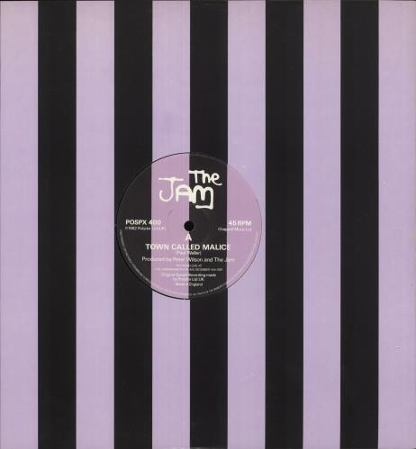 """The Jam Town Called Malice - Live 12"""" vinyl single (12 inch record / Maxi-single) UK JAM12TO736574"""