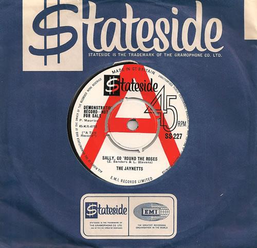 "The Jaynetts Sally Go Round The Roses 7"" vinyl single (7 inch record) UK 7JN07SA486277"