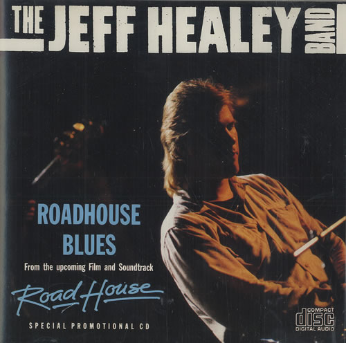 The Jeff Healey Band Roadhouse Blues Us Promo Cd Single