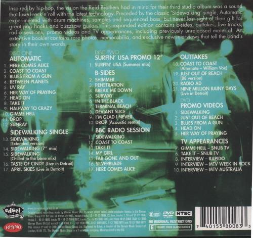 The Jesus Mary Chain Automatic Expanded Edition Uk 3 Disc Cd Dvd