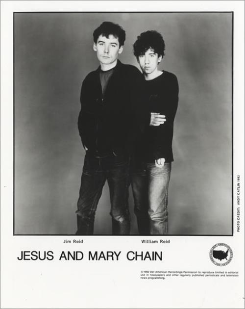 The Jesus & Mary Chain Honey's Dead media press pack US JMCPPHO441449